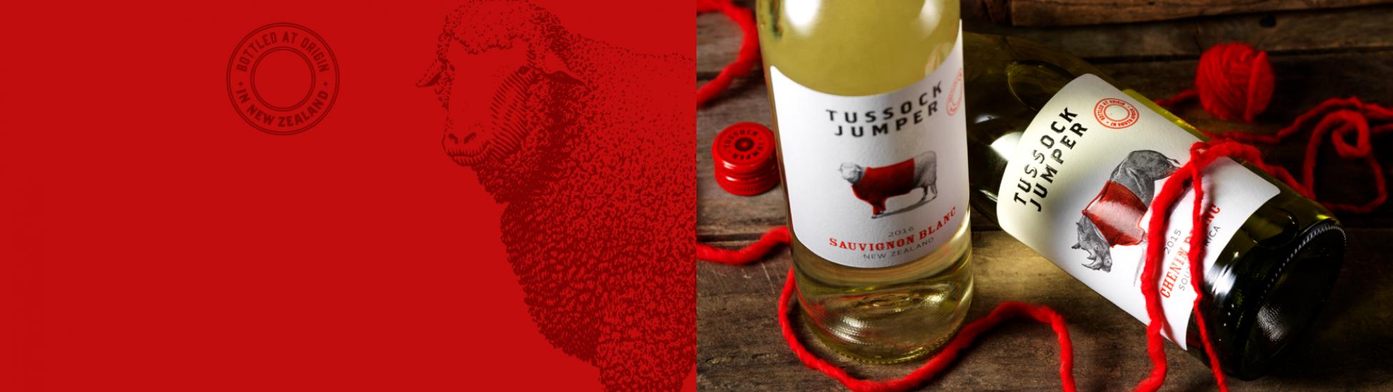 Tussock Jumper Wines - New Zealand - Sauvignon Blanc
